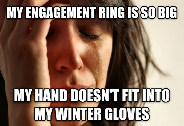 My Engagement Ring Is Fiance Meme