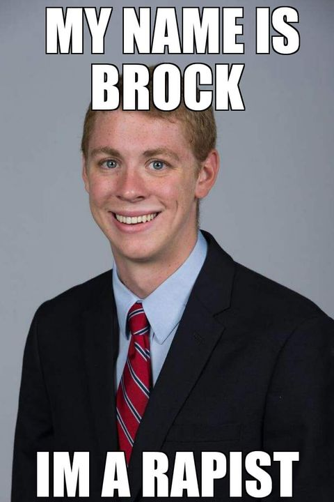 My Name Is Brock Facebook Meme
