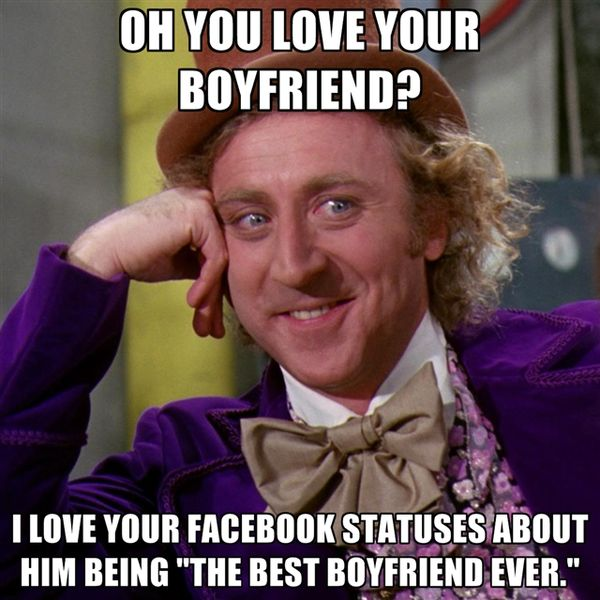 Oh You Love Your BF Birthday Meme