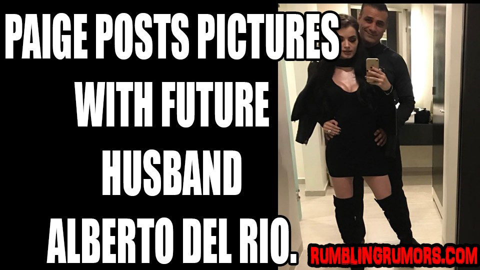 Paige Posts Pictures With Alberto Del Rio Meme