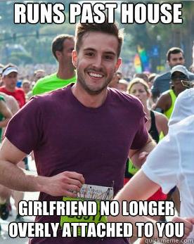 Runs Past House Girlfriend Girlfriend Meme