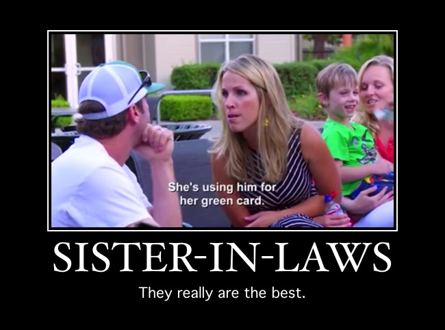 Sister In Laws They Fiance Meme