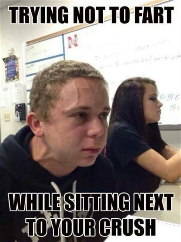 Trying Not To Fart Funny Meme