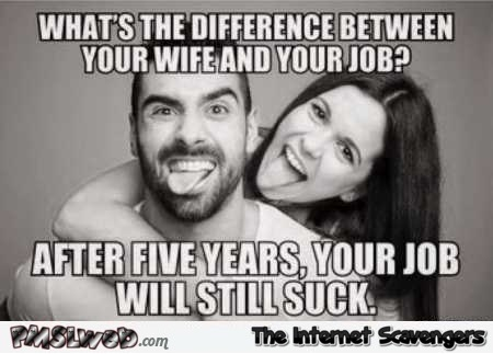 What's The Difference Between Wife Meme
