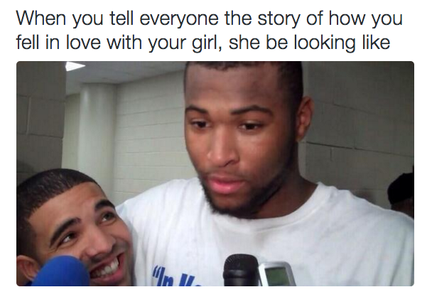 When You Tell Everyone Girlfriend Meme