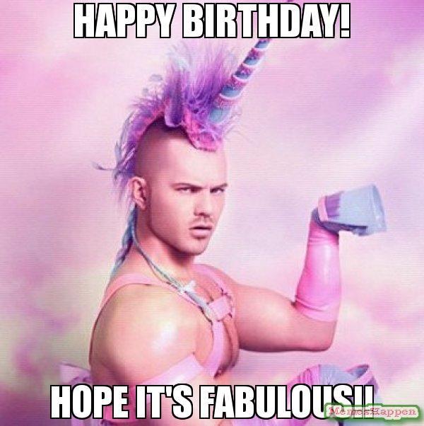 happy birthday hope its fabulous girl meme
