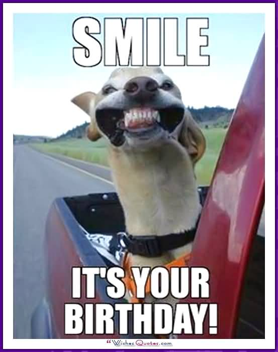 smile its your birthday funny memes