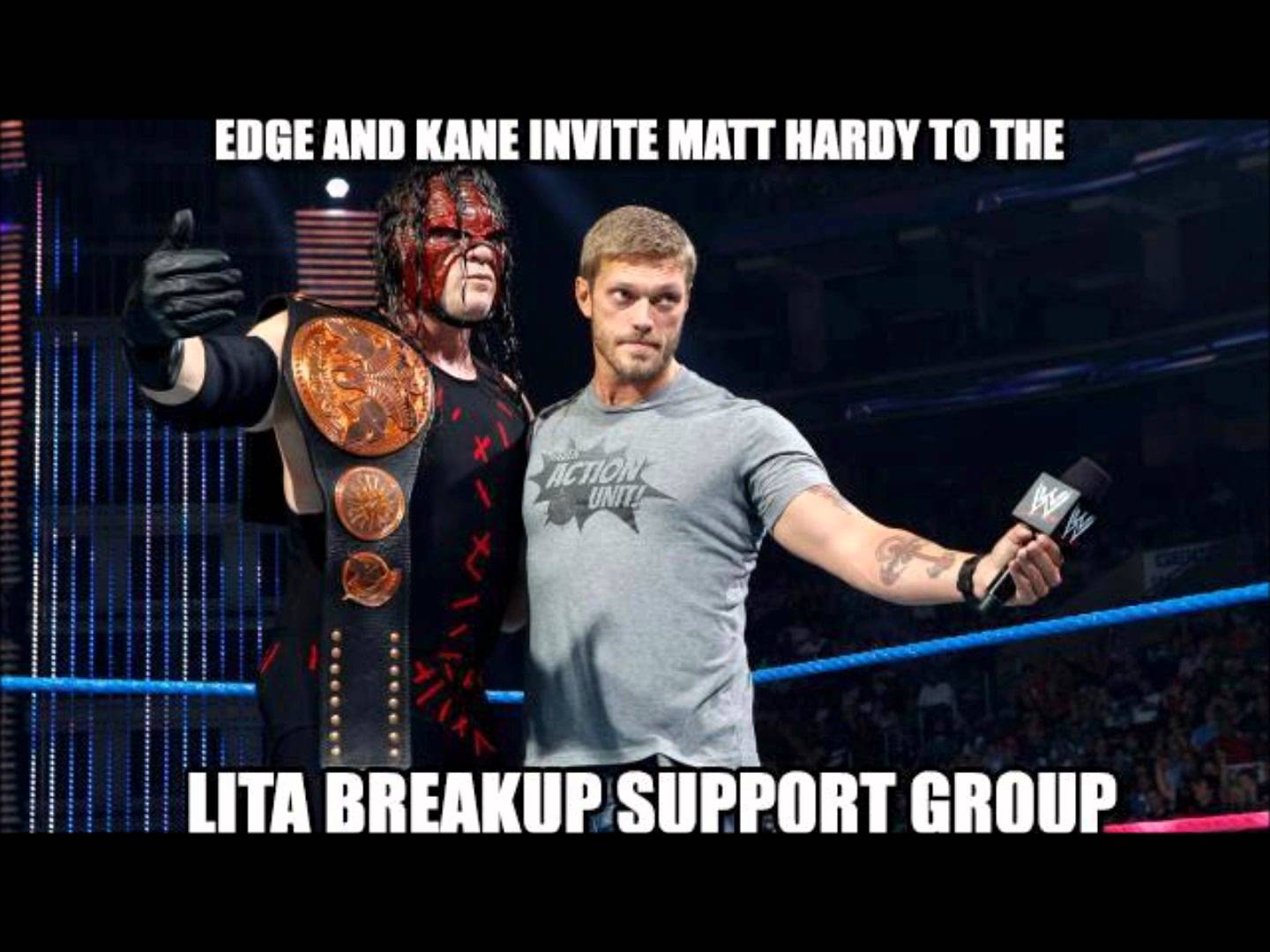 Edge And Kane Invite Edge Meme