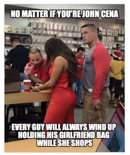 No Matter If You're John Cena Meme