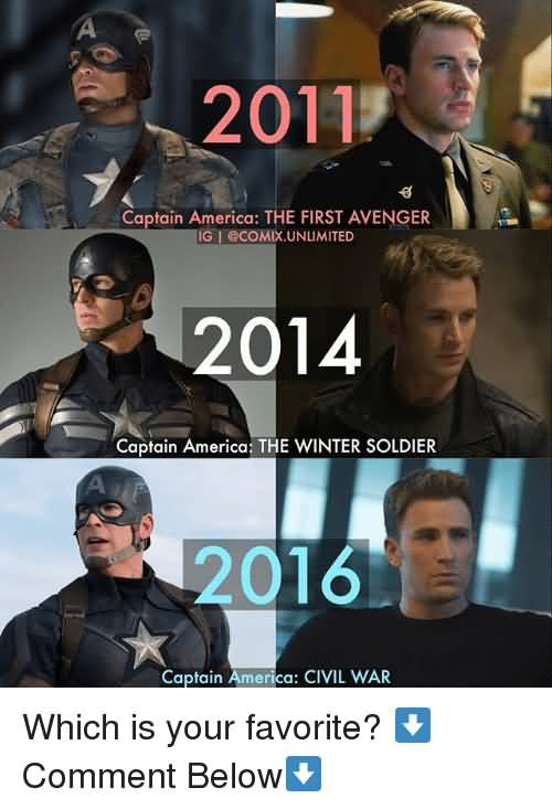 Captain America The First Captain America Meme