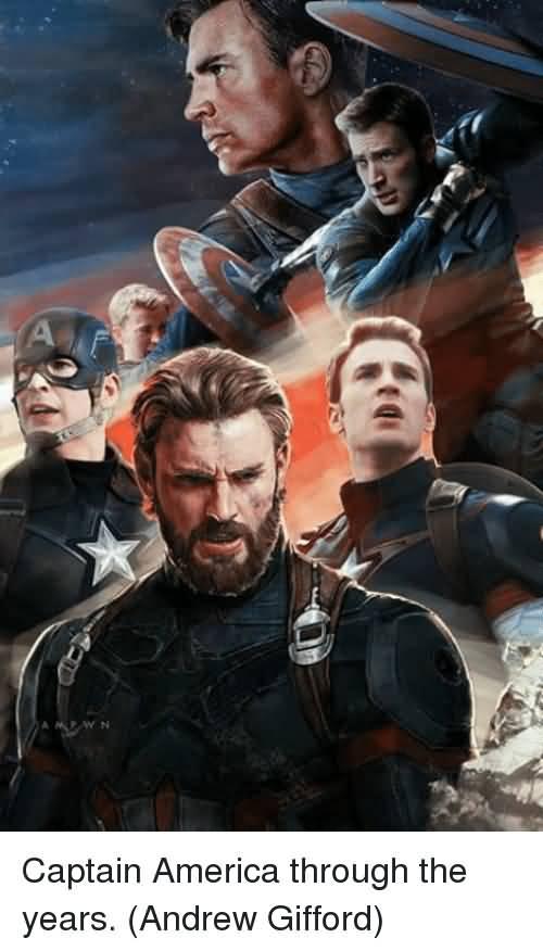 Captain America Through The Captain America Meme