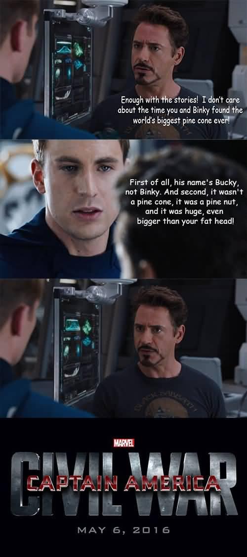 Memes Captain America Elevator