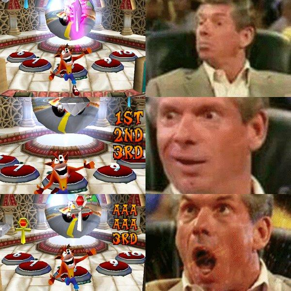 1st 2nd 3rd AAA Vince McMahon Meme