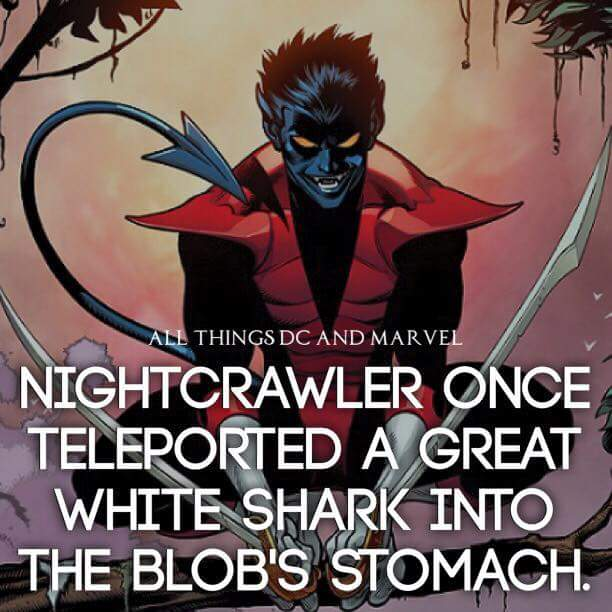 All Things DC And Marvel Nightcrawler Meme
