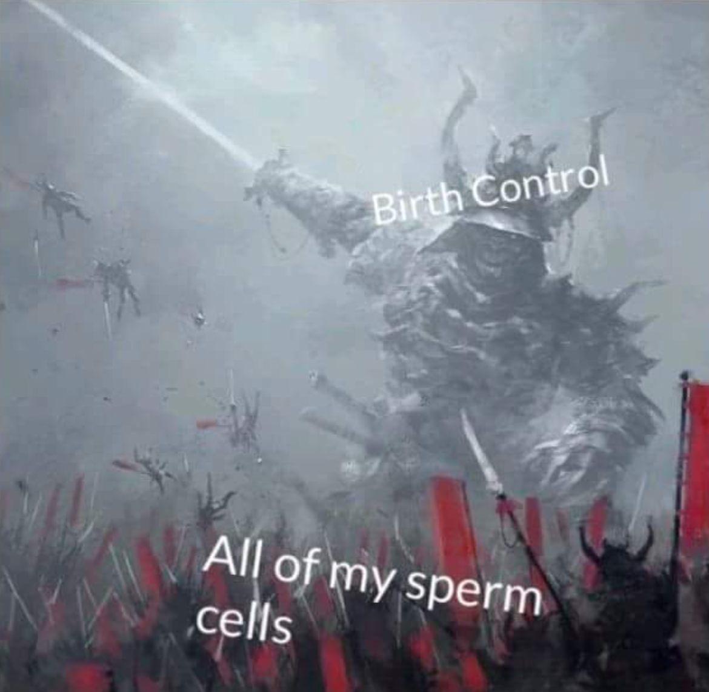 Birth Control All Of Colossus Meme