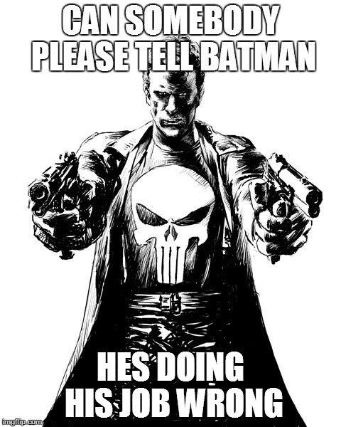 Can Somebody Please Tell Punisher Meme