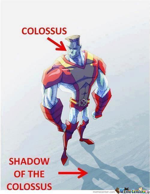 Colossus Shadow Of The Colossus Meme