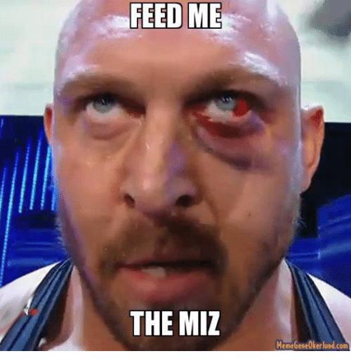 Feed Me The Miz The Miz Meme