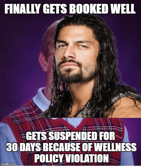 Finally Gets Booked Well Roman Reigns Meme