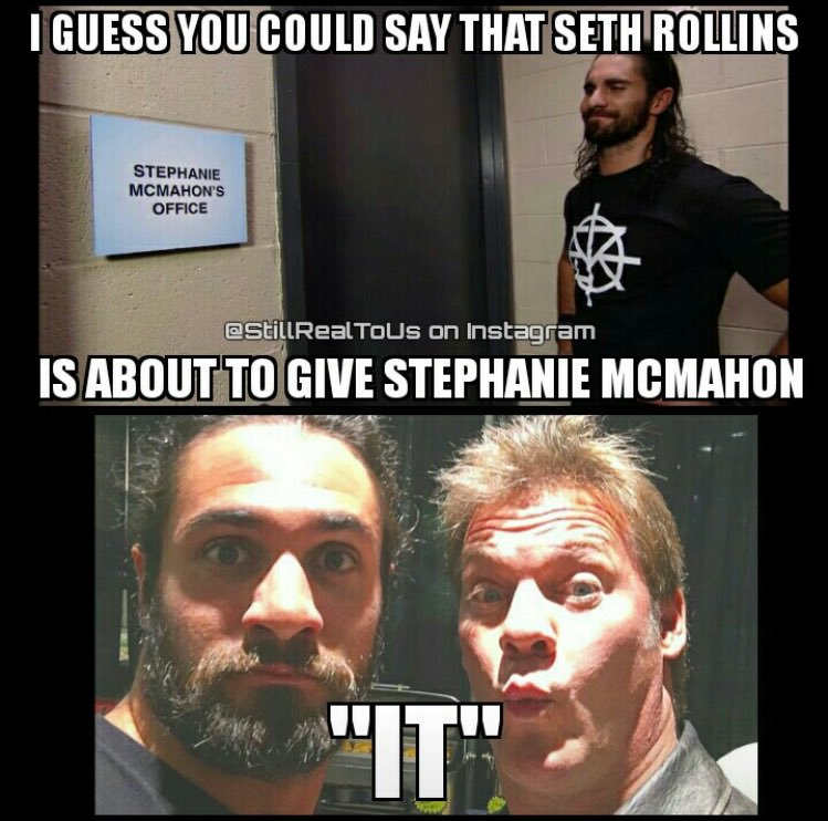 I Guess You Could Seth Rollins Meme
