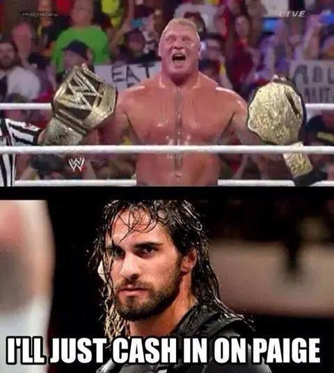 I'll Just Cash In Seth Rollins Meme