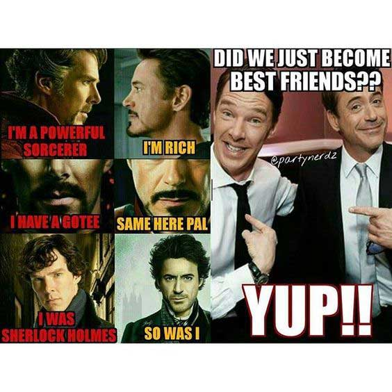 Did We Just Become Best Friends Full Quote: 19 Funny Doctor Strange Meme That Make You Smile