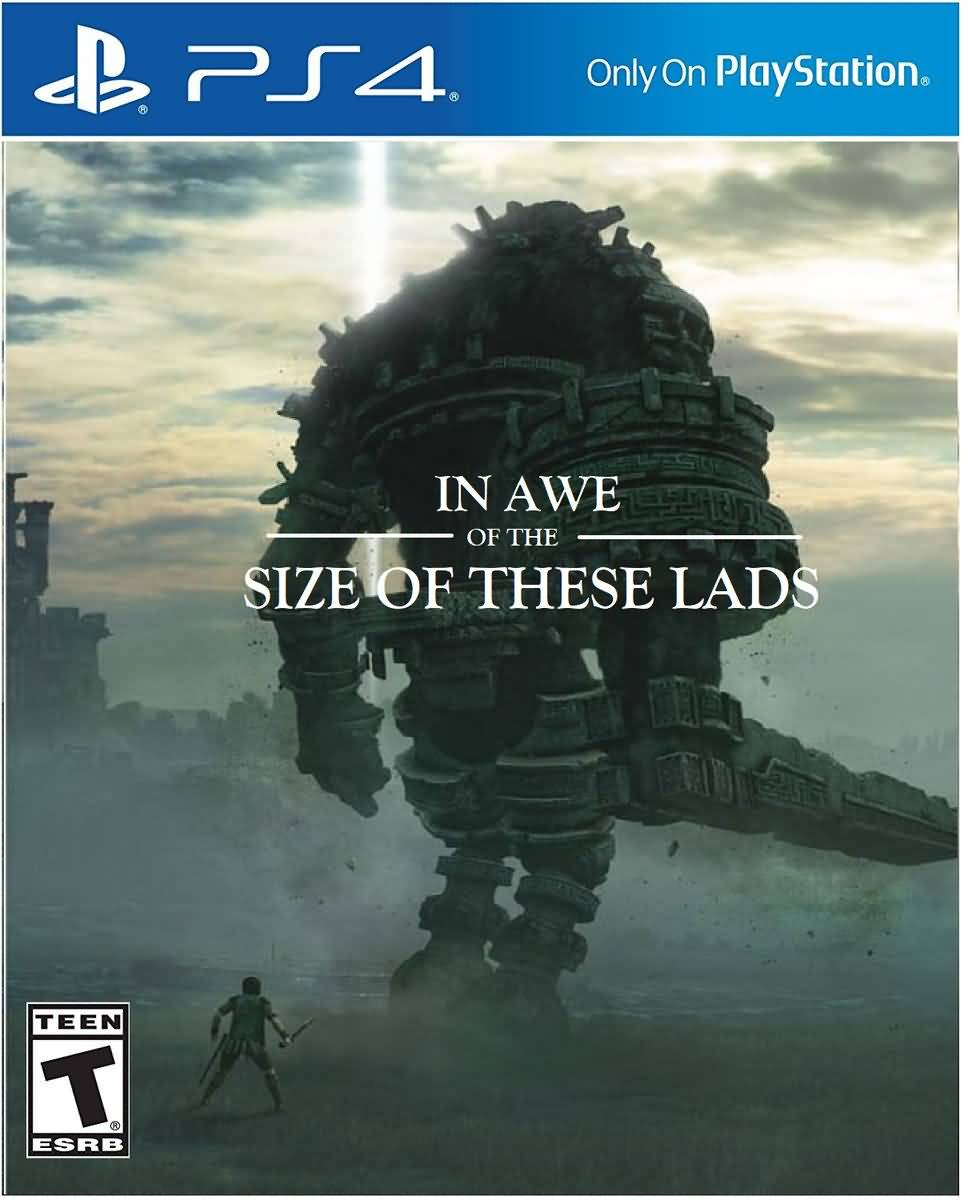 In Awe Of The Size Colossus Meme