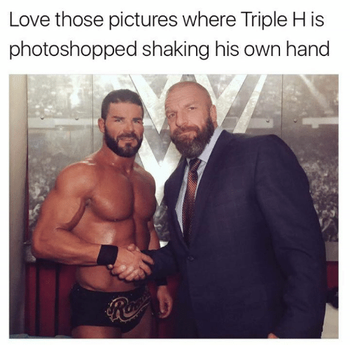 Love Those Pictures Where Triple H Meme