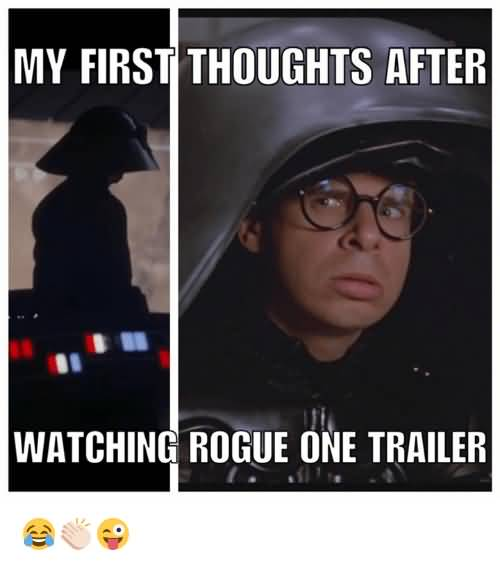 My First Thoughts After Rogue Meme
