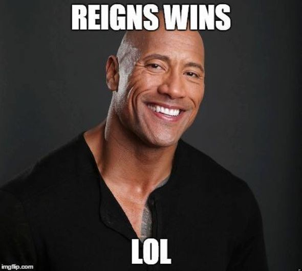 Reigns Wins Lol Roman Reigns Meme