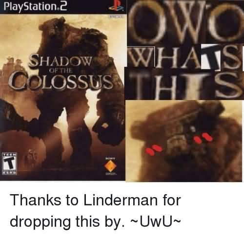 Shadow Of The Colossus Colossus Meme