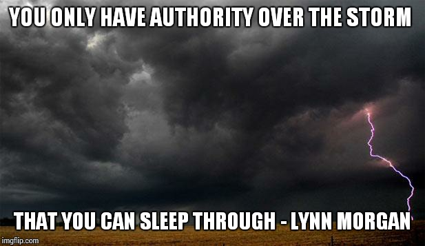 You Only Have Authority Over Storm Meme