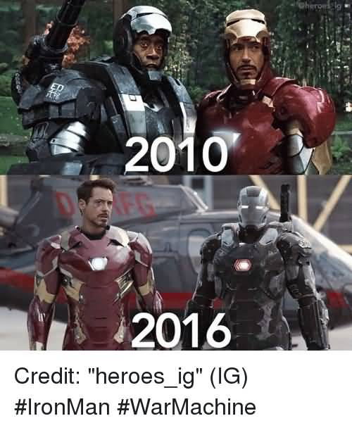 2010 2016 Credit Heroes Ig War Machine Meme