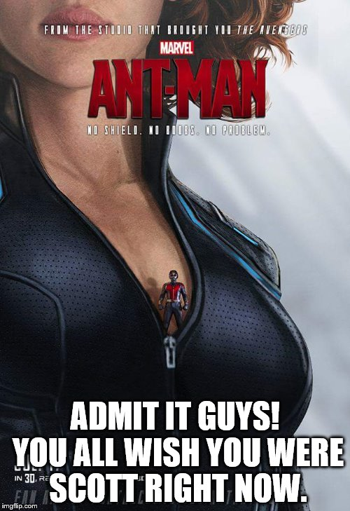 Admit It Guys! You All Ant Man Meme