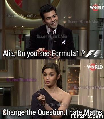 Alia Do You See Formula1 Alia Bhatt Meme