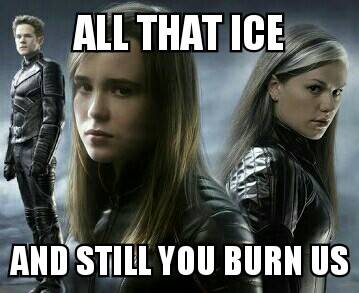 All That Ice And Still Iceman Meme