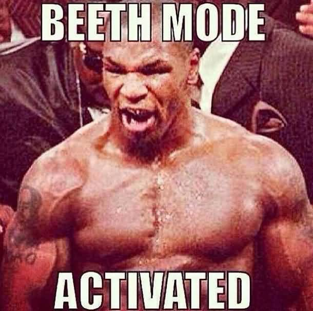Beeth Mode Activated Beast Meme
