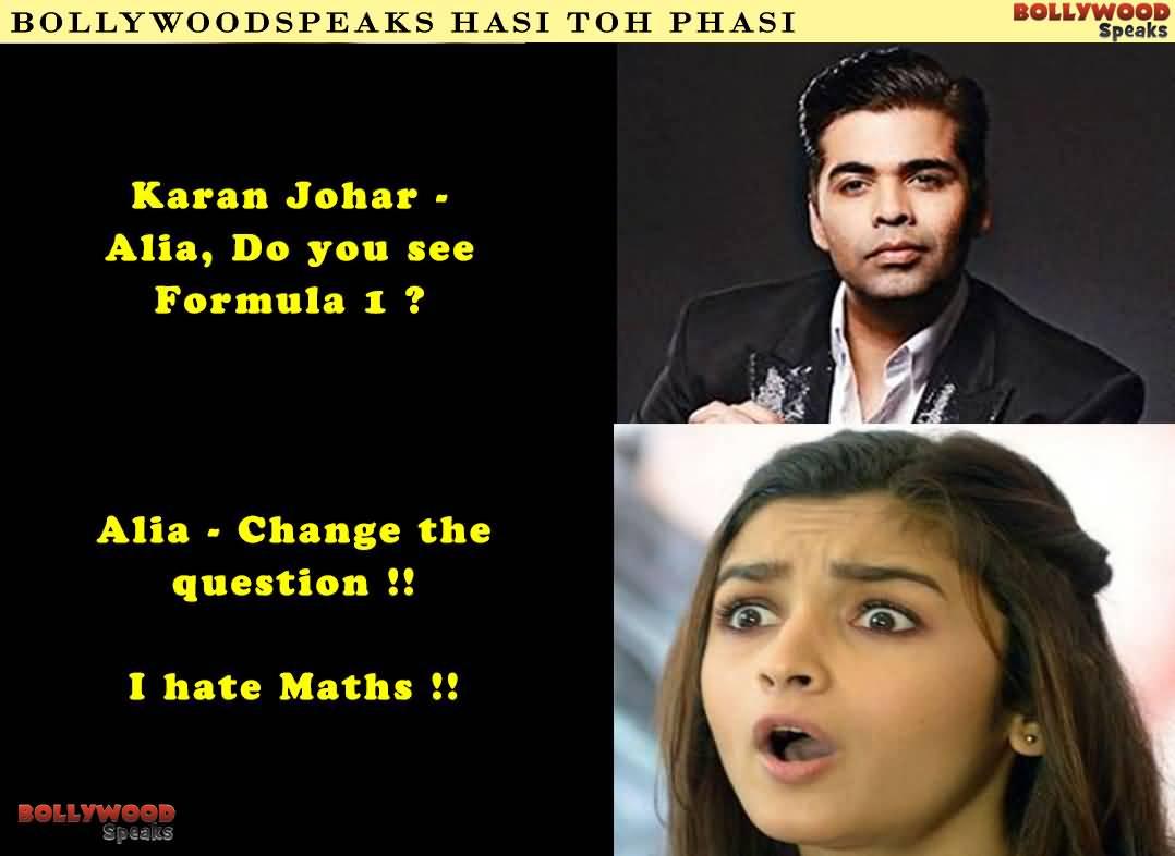 Bollywoodspeaks Hasi Toh Phasi Alia Bhatt Meme
