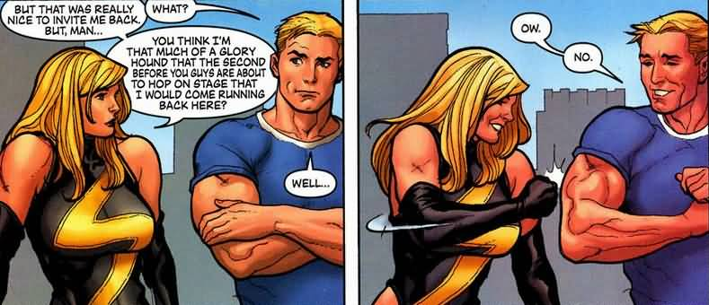But That Was Really Nice Ms. Marvel Meme