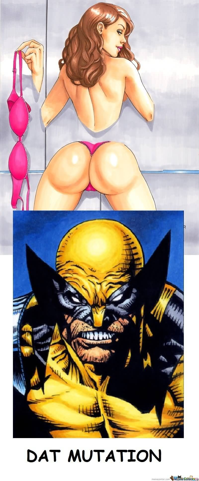 Dat Mutation Kitty Pryde Meme