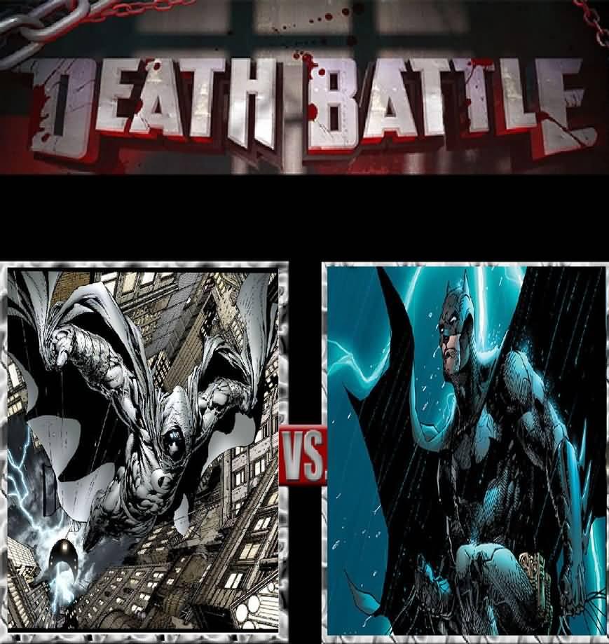 Death Battle Moon Knight Meme