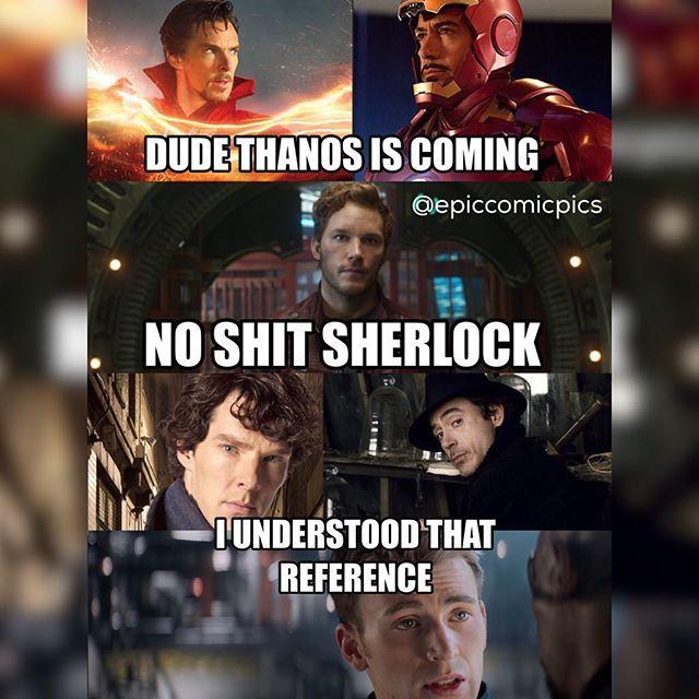 Dude Thanos Is Coming Hawkeye Meme