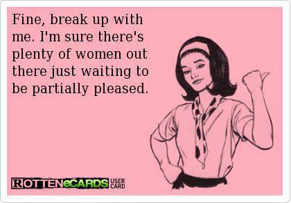 Fine Break Up With Me Break up Meme