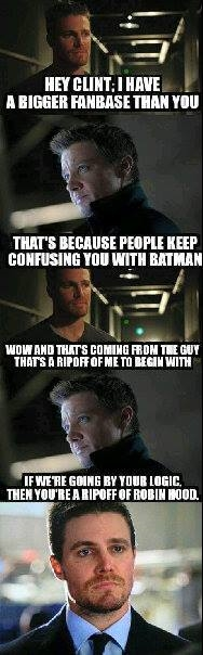Hey Clint I Have Hawkeye Meme