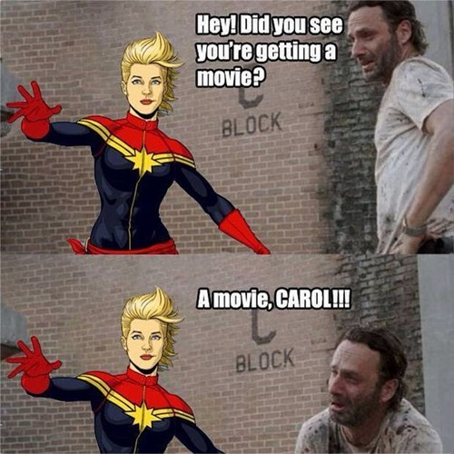 Hey! Did You See You're Captain Marvel Meme