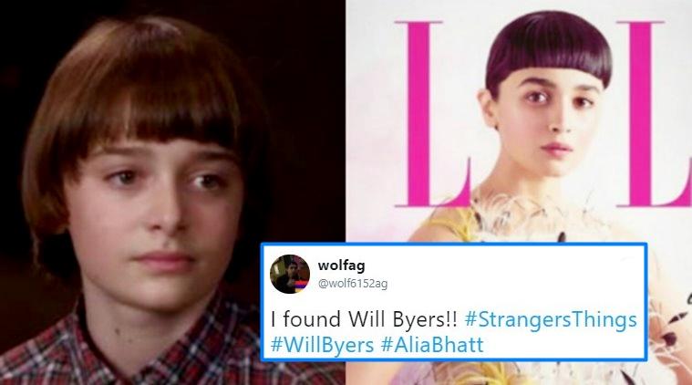 I Found Will Byers!! Alia Bhatt Meme