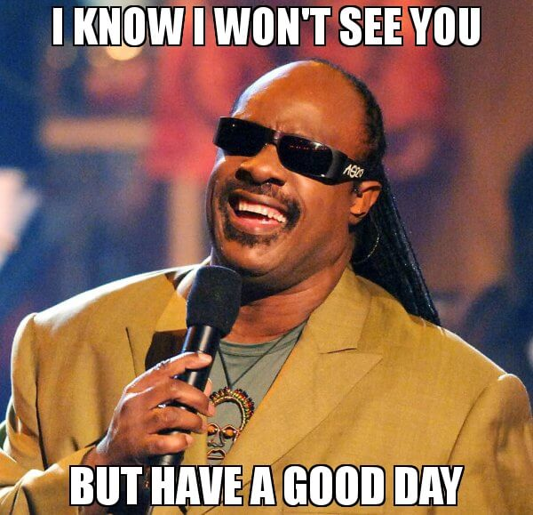 I Know I Won't See You Good Day Meme