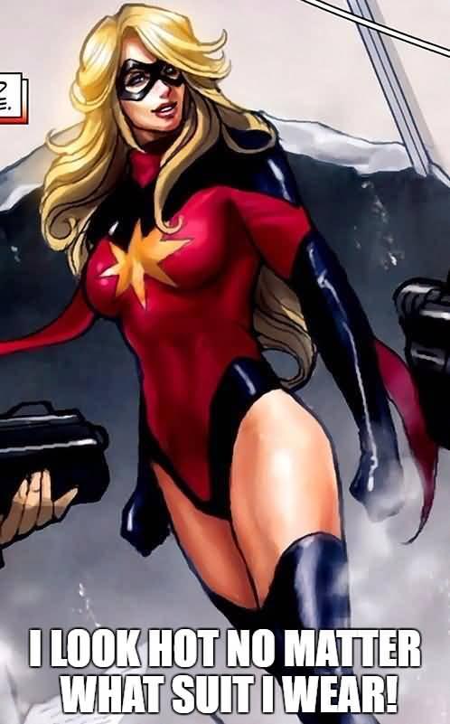 I Look Hot No Matter Ms. Marvel Meme