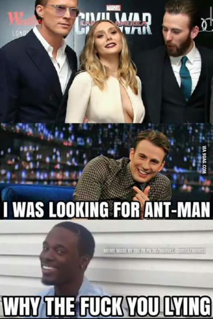 I Was Looking For Ant Man Ant Man Meme