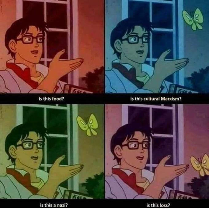 Is This Food Nazi Butterfly Meme